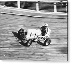 Coney Island Midget Race Car Acrylic Print by Underwood Archives