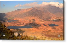 Connor Pass Acrylic Print by Barbara Walsh