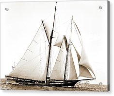Constellation, Constellation Schooner, Yachts Acrylic Print
