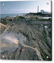 Contaminated Land Acrylic Print