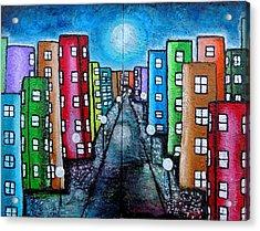 Contemporary City Acrylic Print