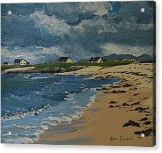 Coral Strand Connemara Ireland Acrylic Print