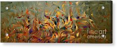 2 Corinthians 5 7. Faith- Not Emotion Acrylic Print by Mark Lawrence