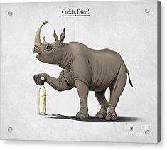 Cork It Durer Acrylic Print