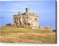 Cornwall - Pendennis Castle Acrylic Print