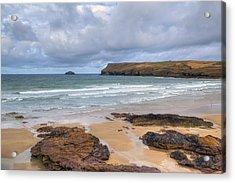 Cornwall - Polzeath Acrylic Print