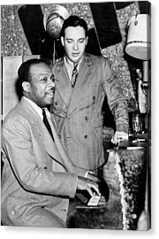 Count Basie (1904-1984) Acrylic Print by Granger