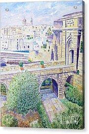 Couvre Port Birgu Malta Acrylic Print
