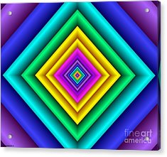 Covariance  9 Acrylic Print