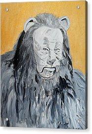 Cowardly Lion Acrylic Print