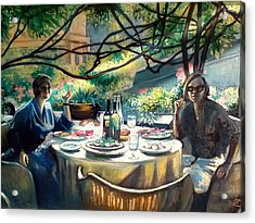 Croasdella And Geraldine Acrylic Print