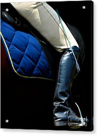 Crop And Boot  Acrylic Print by Steven Digman