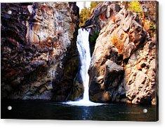 Crow Creek Falls Acrylic Print