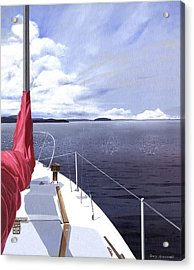 Cruising North Acrylic Print