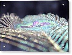 Crystal Ball Acrylic Print by Krissy Katsimbras