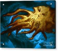 Cthulhu Arisen Acrylic Print by Steed Edwards