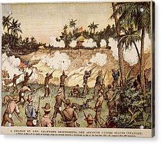 Cuba San Juan Hill, 1898 Acrylic Print