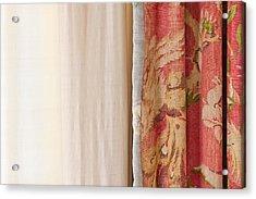 Curtains Acrylic Print by Tom Gowanlock
