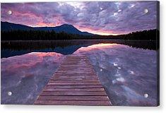 Daicey Pond Sunrise Acrylic Print