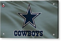 Dallas Cowboys Uniform Acrylic Print by Joe Hamilton