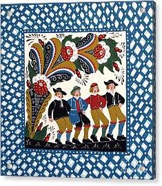 Dancing Men  Acrylic Print by Leif Sodergren