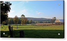 Deerfield Countryside Acrylic Print by DustyFootPhotography
