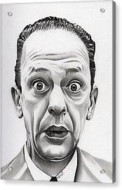 Deputy Barney Fife Acrylic Print by Fred Larucci