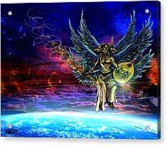 Descending Seraphim Acrylic Print