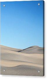 Desert Calm Acrylic Print by Jon Glaser
