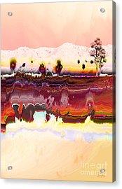 Desert Impression Acrylic Print