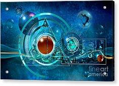 Digital Genesis Acrylic Print