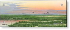 Acrylic Print featuring the painting Divine Whisper by Mike Brown