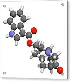 Dolasetron Nausea Drug Molecule Acrylic Print by Molekuul