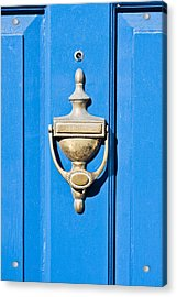 Door Knocker Acrylic Print by Tom Gowanlock