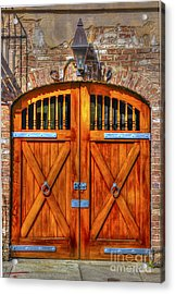 Doors Of Charleston Acrylic Print
