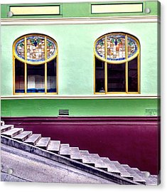 Double Window Acrylic Print