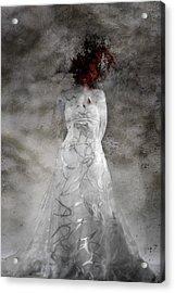 Doubt Acrylic Print by David Fox
