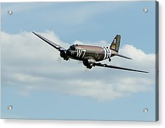 Douglas C-47 Skytrain Whiskey 7 Acrylic Print by Gary Eason
