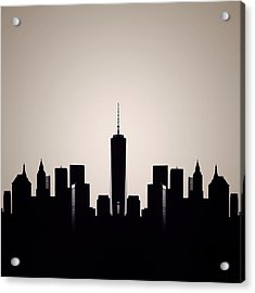 Downtown Deco Acrylic Print by Natasha Marco