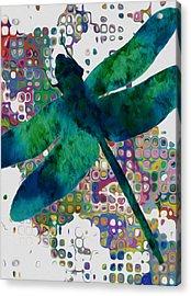 Dragonfly Acrylic Print by Jack Zulli