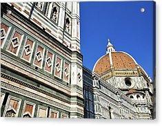 Duomo Santa Maria Del Fiore Acrylic Print by Sami Sarkis