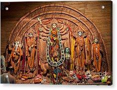 Durga Puja Festival Acrylic Print by Rudra Narayan  Mitra