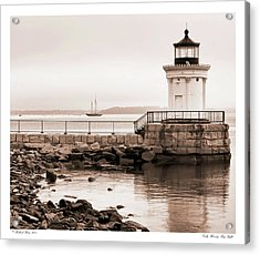Acrylic Print featuring the photograph Early Morning Bug Light by Richard Bean
