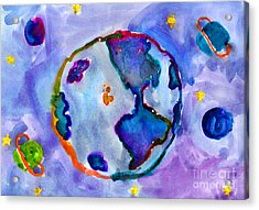 Earth Acrylic Print