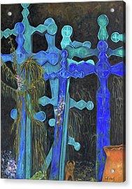 Earth Lord Shrine Acrylic Print