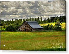 Eastside Road Barn Acrylic Print