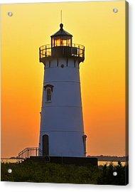 Edgartown Light Acrylic Print by Dan Myers