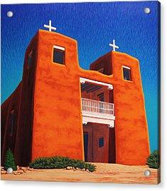 El Corazon Sagrado Acrylic Print