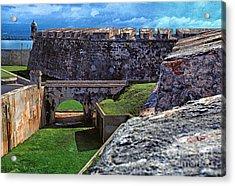 El Morro Fortress Old San Juan Acrylic Print by Thomas R Fletcher
