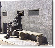 Eleanor Rigby Statue Liverpool Uk Acrylic Print
